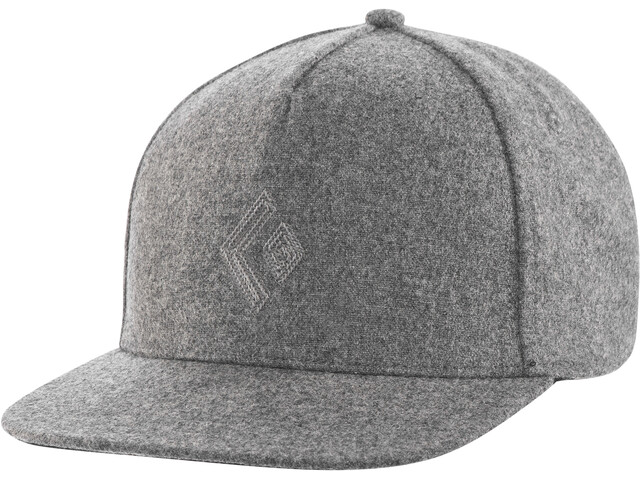 Black Diamond Wool Trucker Hat ash
